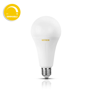 E27 LED-lamp 12W warm wit (dimbaar)