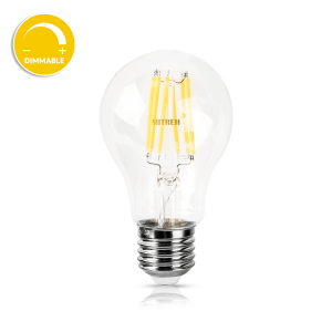 E27 LED Bulb 8W Filament Warm White (Dimmable)