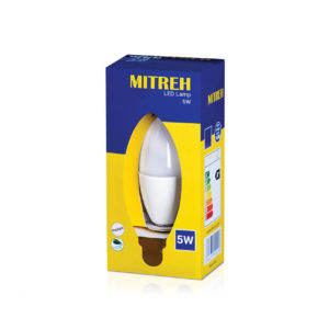 E14 LED 6W Candle Warm White
